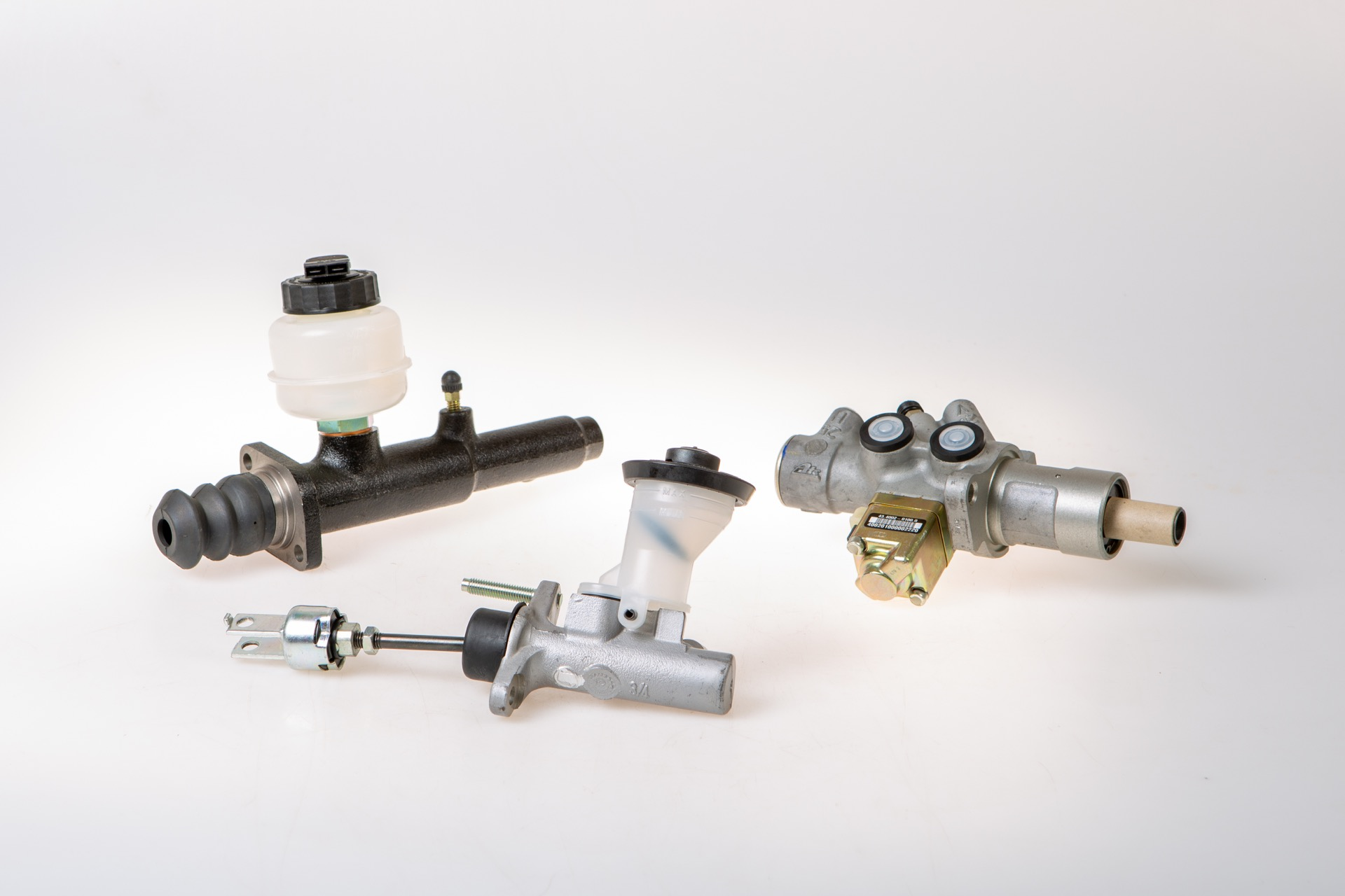 Master cylinders and wheel cylinder